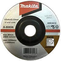 Зачистной диск по нержавеющей стали 125 мм Makita 36N A-80656 (70551)