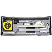Набор измерительного инструмента Force 9шт (5096)