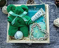 Подарок женщине, маме, девушке в деревянном боксе