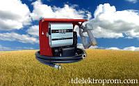 Топливораздаточная колонка для заправки дизельного топлива со счетчиком  , 220В, 80 л/мин. ТРК