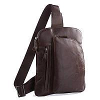 Кожаная сумка через плече Navara