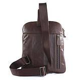 Кожаная сумка через плече Navara 7194C, фото 4