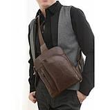 Кожаная сумка через плече Navara 7194C, фото 7