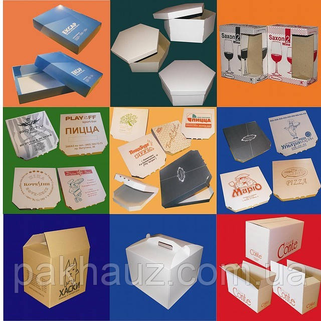 Упаковка из картона и гофрокартона