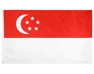 Флаг Сингапура 90х160см