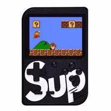 Портативная игровая приставка Sup 400 игр Черная, фото 2