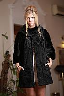Шуба из каракульчи и американской норкиswakarabroadtail jacket coat furcoat