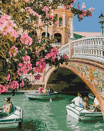KH4612 Картина-раскраска Романтическая прогулка, Без коробки, фото 2