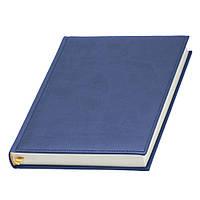 Ежедневник 'Принт' от Lediberg синий, Италия, датированный на 2021 год, под тиснение логотипа, фото 1