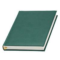 Ежедневник 'Принт' темно-зеленый Lediberg ТМ Италия под тиснение на обложке, фото 1