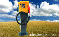 Топливораздаточная колонка для дизельного топлива с пьедесталом VISION 60, 220В, 60-100 л/мин. ТРК