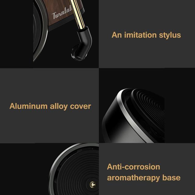 Автомобильный ароматизатор Xiaomi TITA Turntable Фонограф DSHJ-B-1902