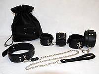 Бондажный набор «Премиум» чёрный SET-16