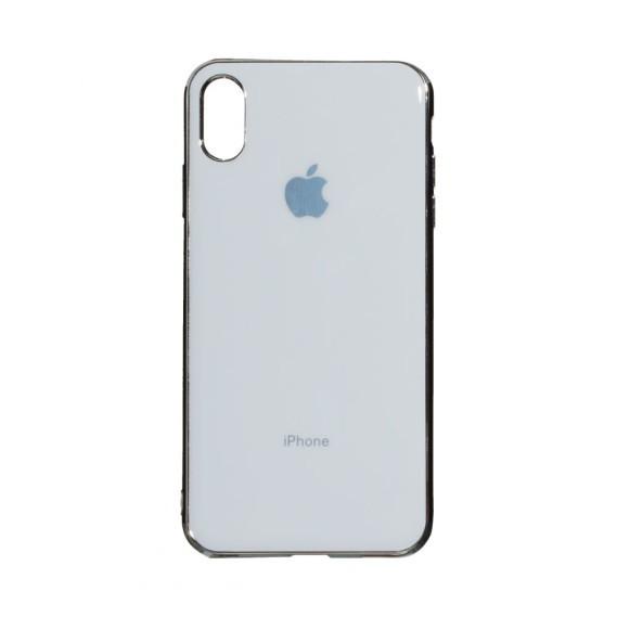 Силиконовый чехол Original Glass для Apple iPhone Xs Max