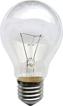 Лампы накаливания ЛОН тип А (стандартные)