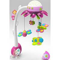 Музыкальный мобиль Cotoons Цветок Smoby с проектором и пультом управления