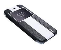 Чехол книжка для iPhone 6 Plus Black/White