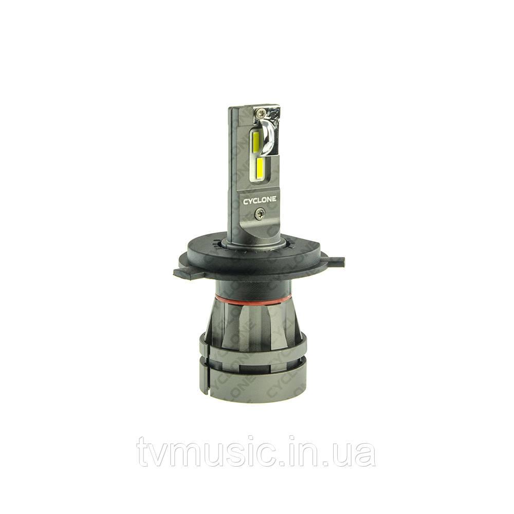 LED лампа CYCLONE H4 H/L 5000K 5100Lm CR Type 27S