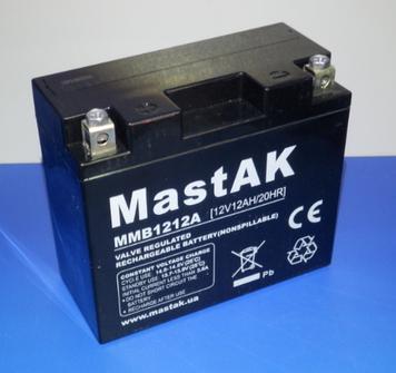 Аккумулятор МastAK MMB1212A 12v 12Ah