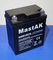 Аккумулятор МastAK MMB1207A 12v 7Ah