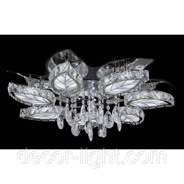 Люстра светодиодная LED SR-Y0820/7 BK+CR
