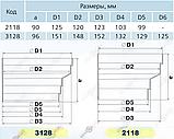 Редуктор-эксцентрик вентиляционный круглый (ассиметричный), фото 3