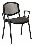 Офисный стул ISO net arm black