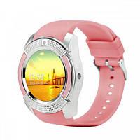 Смарт-часы Smart Watch V8 Pink