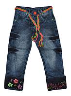 Джинсы детские  2-3-4-5-6 лет для девочек. Детская одежда оптом.