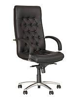 кресло руководителя FIDEL lux steel chrome с механизмом «Мультиблок»