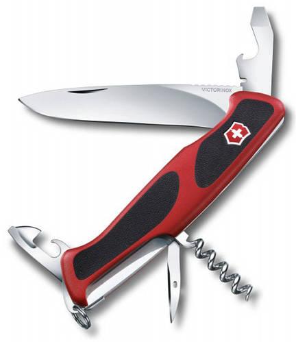 Качественный складной  нож Victorinox RangerGrip 09553.C красный