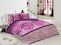 Постельное белье 200x220 Class Bahar Teksil Bellini v1 розовый