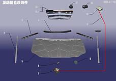 Детали моторного отсека
