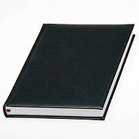 Ежедневник 'Небраска' черного цвета Lediberg ТМ в обложке из искусственной  кожи, фото 1