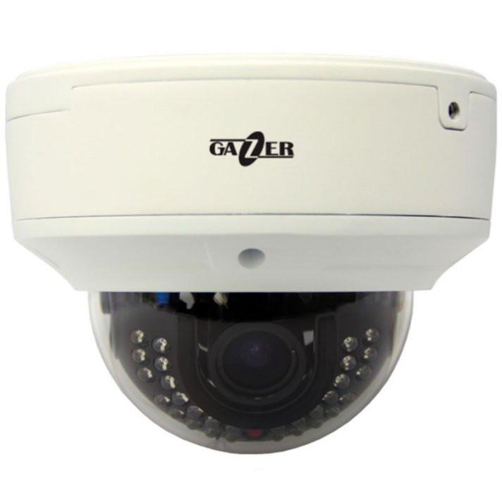 Уличная купольная HD-TVI камера Gazer CT222, 2 Mpix