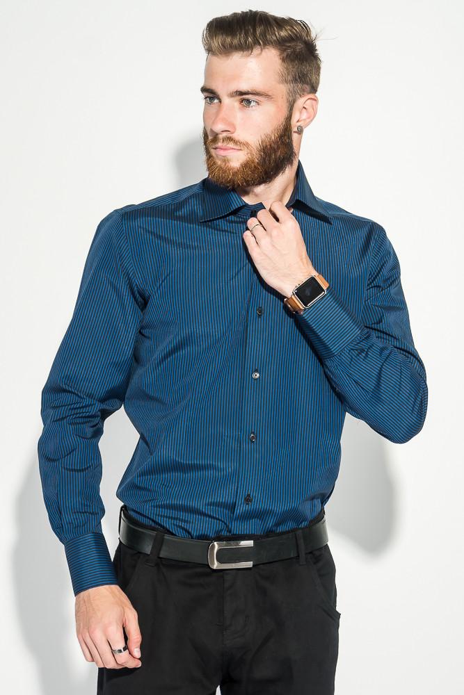 Рубашка 50PD85103 цвет Сине-черный