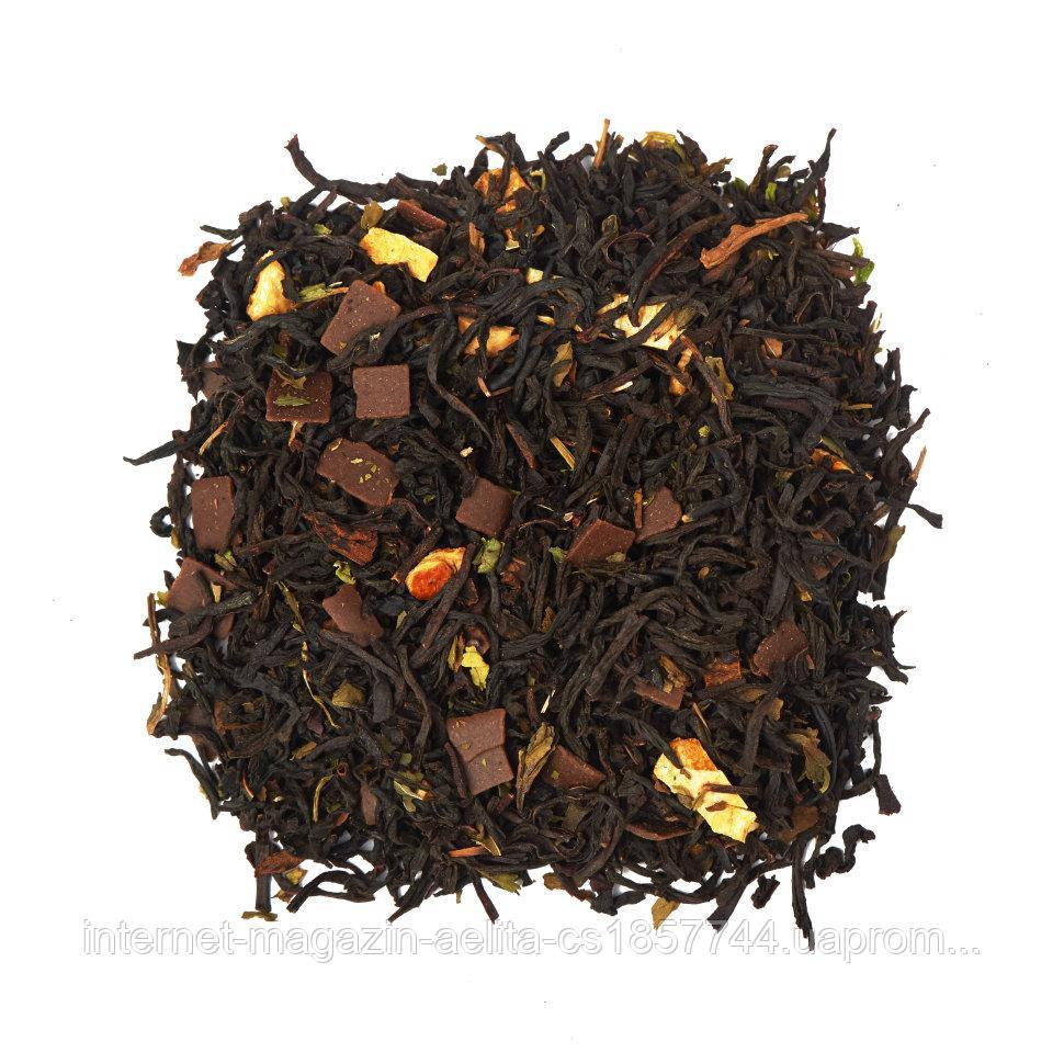 Чай чорний з добавками Чорний Шоколад 500 г