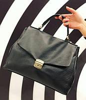 Сумка жіноча шкіряна саквояж Італія , Італійські шкіряні сумки Люкс Laura Biagiotti, фото 1