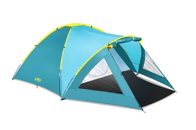 Палатка туристическая Bestway 3-местная (210+140)x240x130см, фото 2