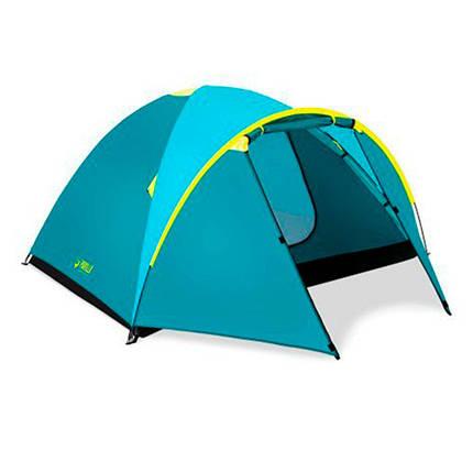 Палатка туристическая Bestway 4-местная (210+100)x240x130см, фото 2