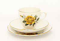 Чашка блюдце тарелка, фарфор Англия Duches BONE CH, фото 1