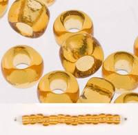 Бисер Preciosa Чехия №10070 1г, янтарный, прозрачный