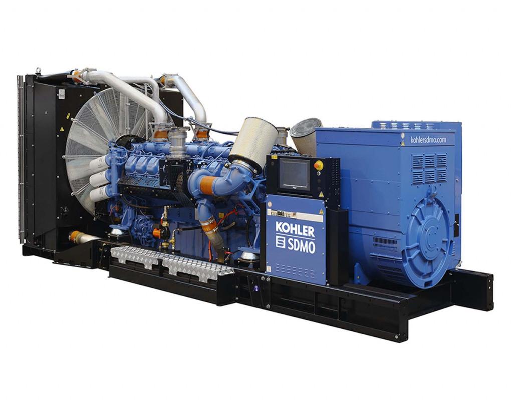 Трехфазный дизельный генератор SDMO X1400C (1100 кВт)