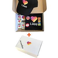 Подарочный набор Super Likeе Box (Лайк Бокс) Black в подарочной коробке Лайк