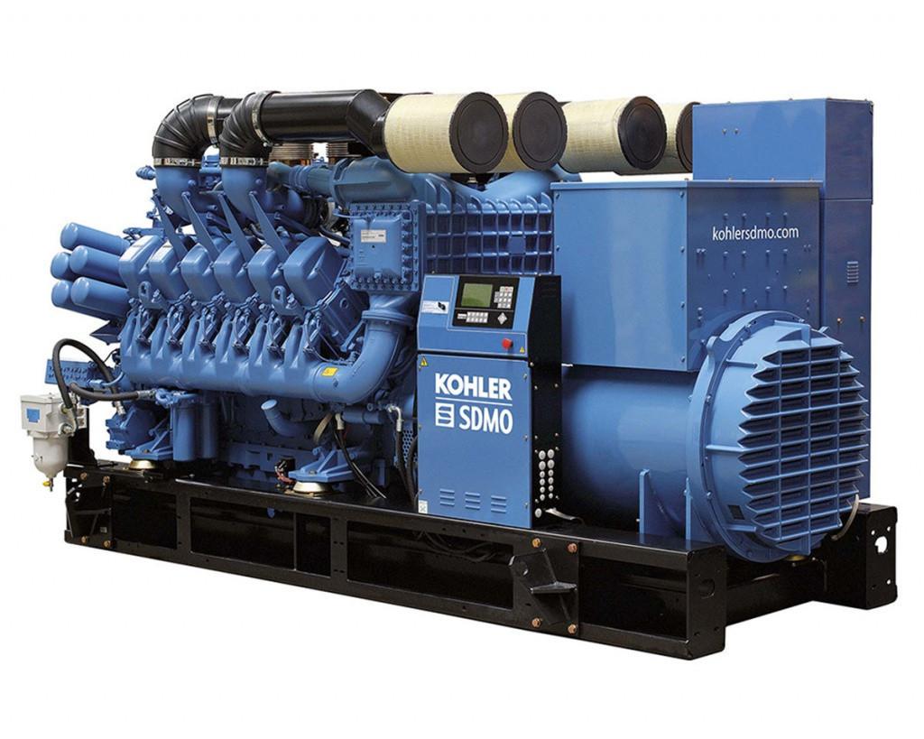 Трехфазный дизельный генератор SDMO X1850C (1464 кВт)