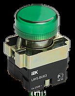 Индикатор LAY5-BU63 d=22мм зеленый, ИЕК [BLS50-BU-K06]