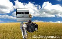 Насос для перекачки дизельного топлива из бочки со счетчиком 220В, 60 л/мин. Насос для ДТ на бочку