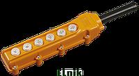 Пульт управления ПКТ-63 на 6 кнопок IP54, ИЕК [BPU10-6]