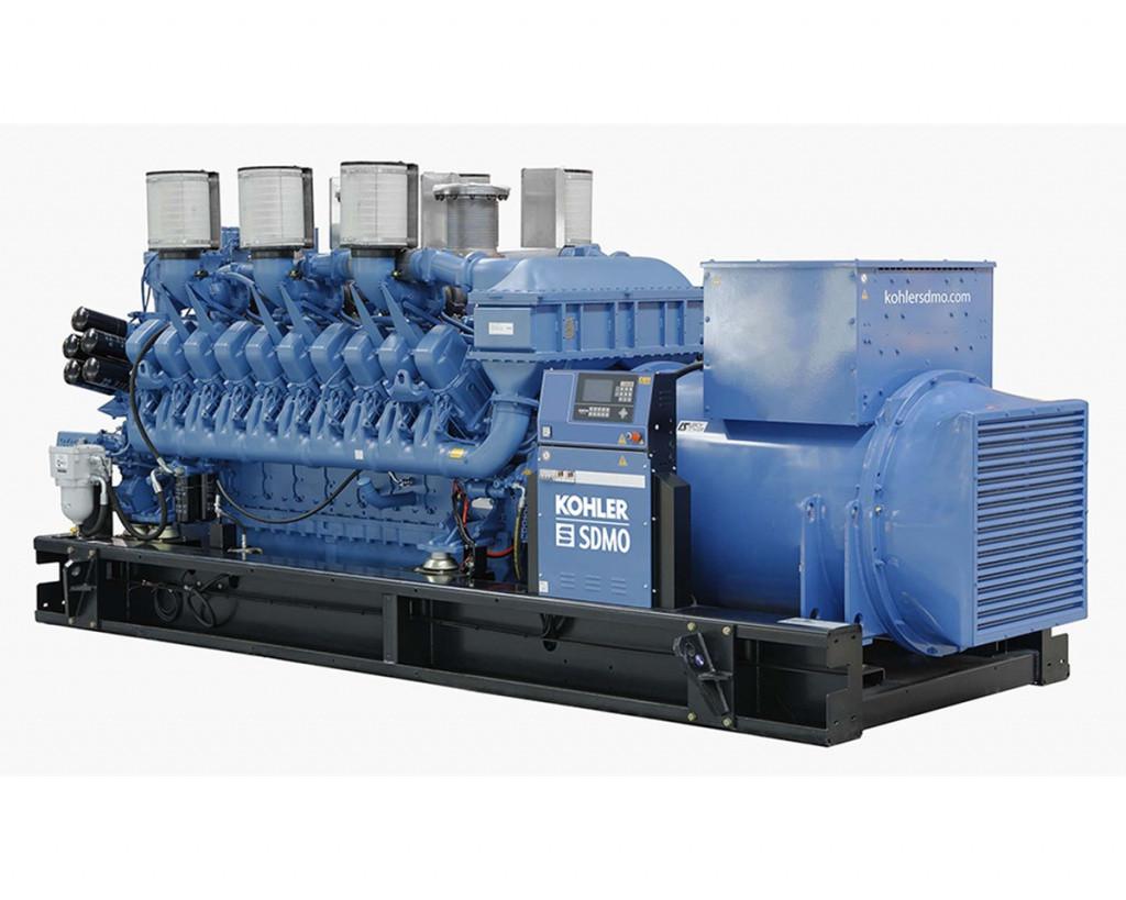 Дизельный генератор SDMO X2700C (1939 кВт)