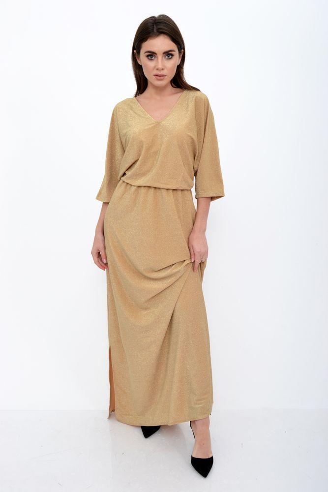 Платье женское 115R346 цвет Песочный
